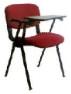 Kırmızı kolçaklı seminer form sandalyesi Kiralama